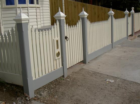 Picket Fencing Designs by Jim's Fencing Melbourne