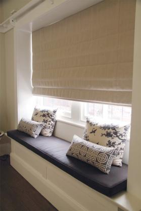 Roman Blind Ideas by Mr Smith's Interiors