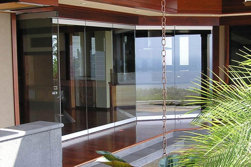 Glas stax weather resistant glass operable walls for Lotus operable walls