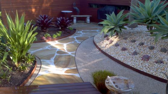 Garden Path Design Ideas by FormBoss Metal Garden Edging