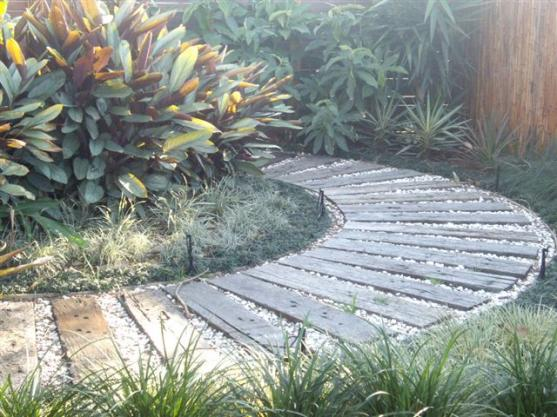 Paving Ideas by Creating Green Landspaces