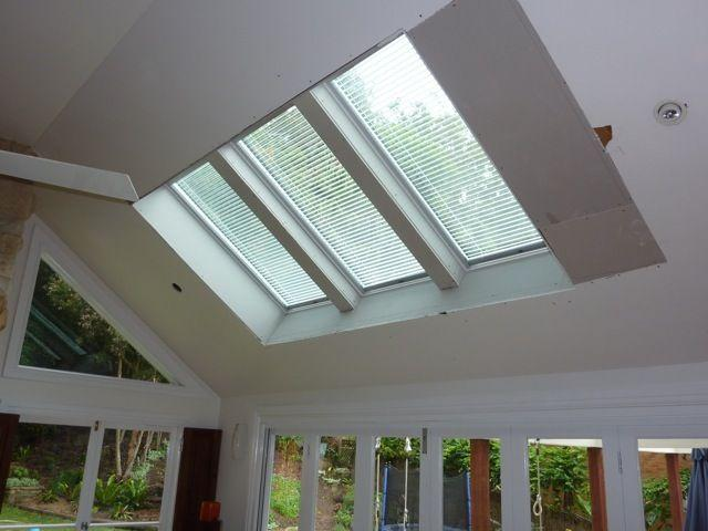 Raked Ceiling Skylight Examples Galleries Skylight Design