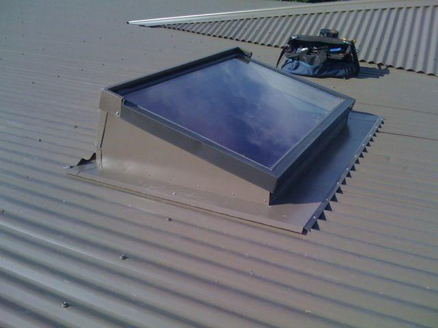 Pitched Flashing Tray Examples Galleries Skylight Design