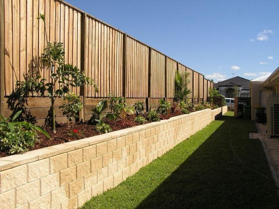 Timber Fencing Designs by Gold Coast Landscapes