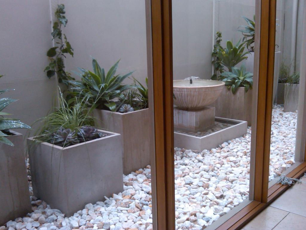 fotos jardins modernos : fotos jardins modernos:Internal Courtyard Design
