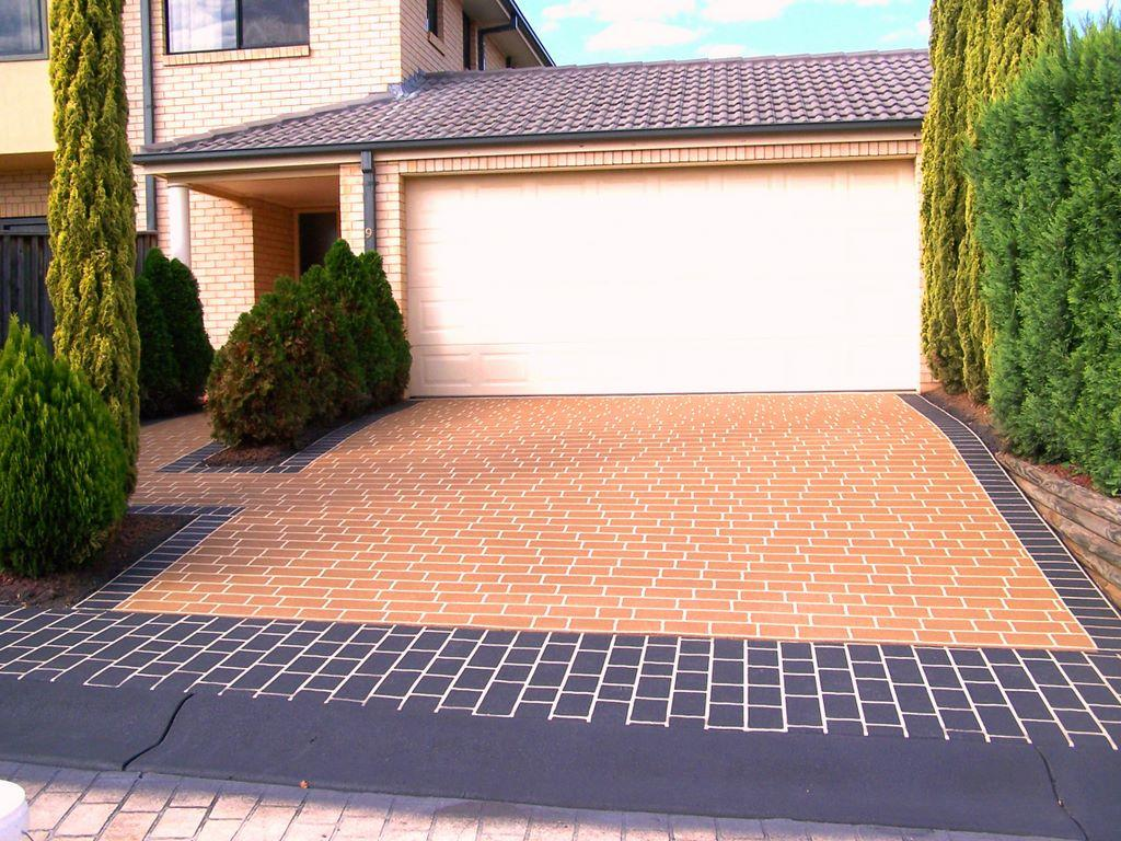 Driveway Design Ideas related content Driveway Designs By Designer Concrete Resurfacing