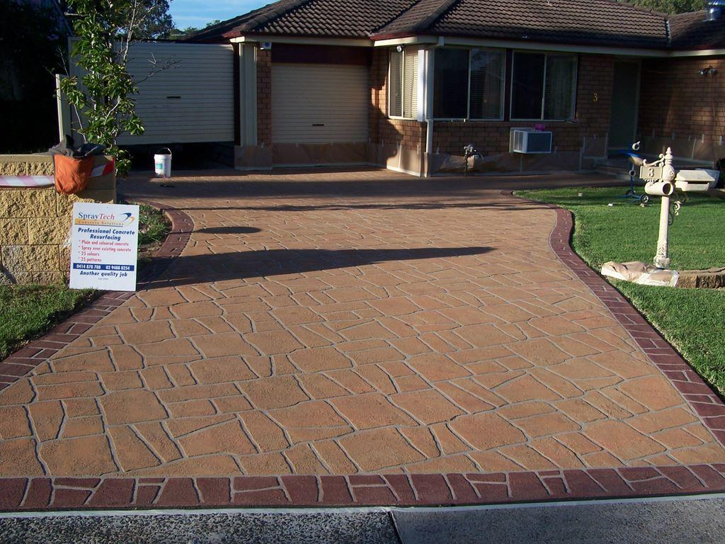 for more concrete driveway inspiration visit our driveway design ideas photo pages youll have to look closely though you wont believe how many of the - Concrete Driveway Design Ideas