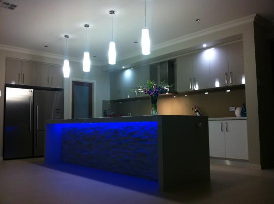 Lighting Design by Kitchen Face Lifts & Renovations