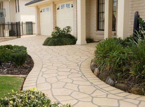 Paving Ideas by Crem De la Crete, Sydney's Premier Concrete Driveway Specialists