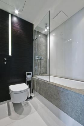 bath shower combo ideas by splash glass mirrors pty ltd - Bathtub Shower Combo Design Ideas