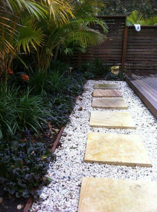 garden paths inspiration - chris chominsky landscapes pty ltd