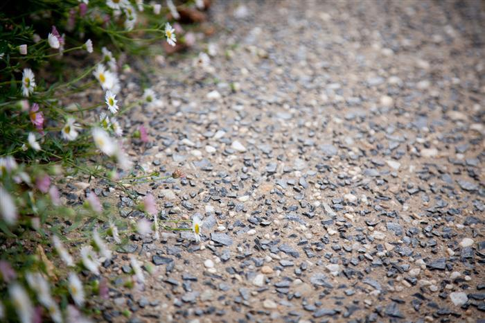 Pebble dashed pathway - concreting costs