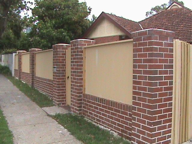Brick Fencing Inspiration Ace Of Blades Sydney