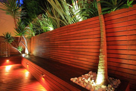 Timber Fencing Designs by design it landscapes Pty Ltd