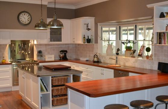 Kitchen design ideas get inspired by photos of kitchens for Kitchen setup designs