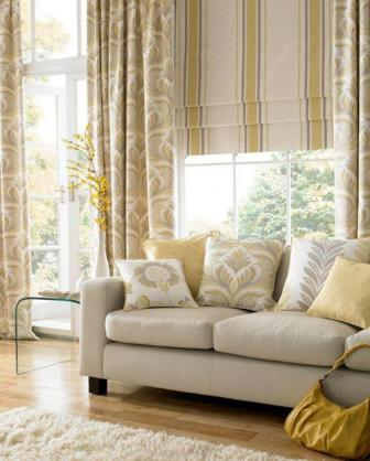 Roman Blind Ideas by Fashion Drapery