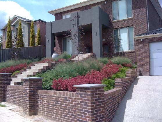 Brick Fencing Designs by Bespoke Garden Design