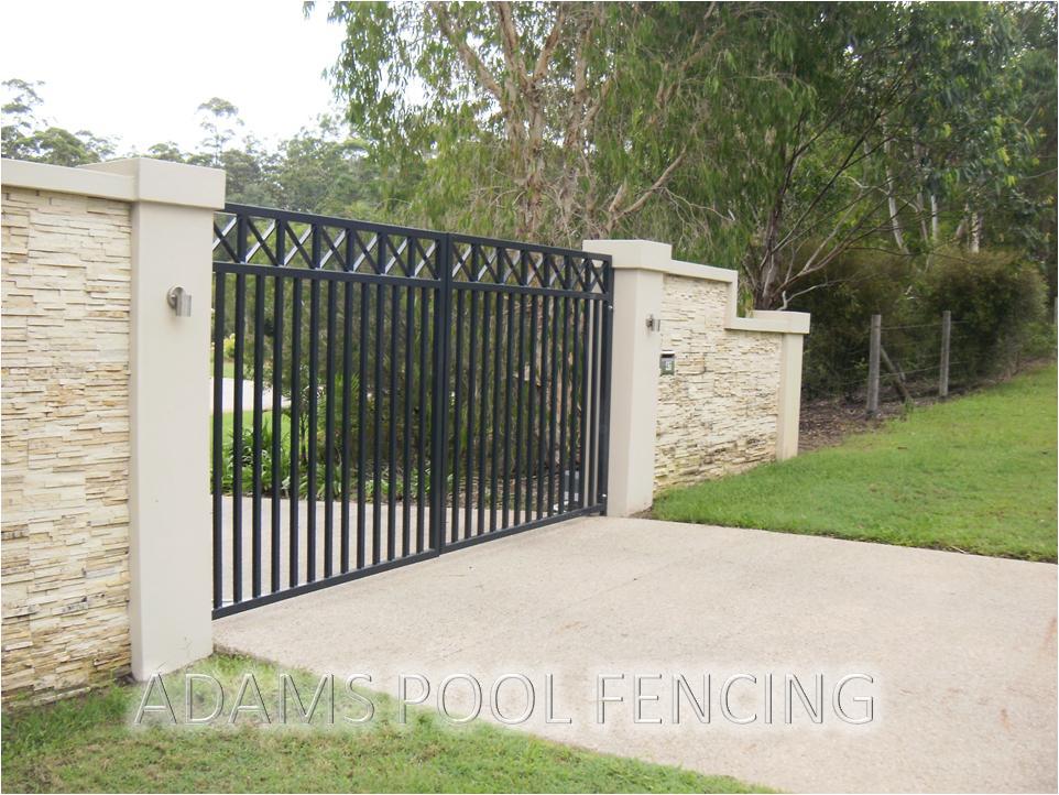 Fences inspiration adams pool fencing australia for Pool fence design qld
