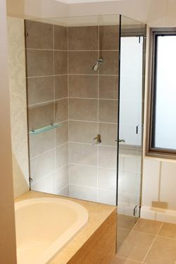 Frameless Shower Screen Designs by Eastern Frameless Shower Screens
