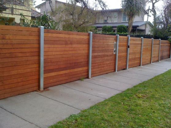 Timber fencing design ideas get inspired by photos of for Front garden fence designs