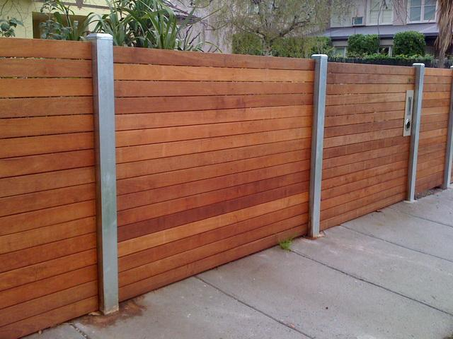 Feature Fencing Galleries Jnd Timber Amp Steel