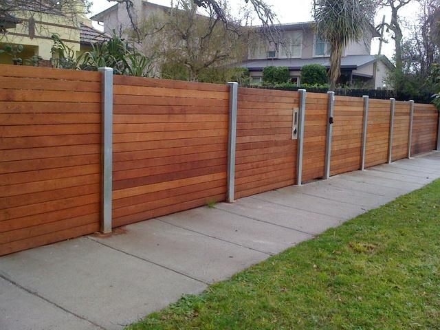 Fences Timber Fencing Feature Fencing Jnd Timber