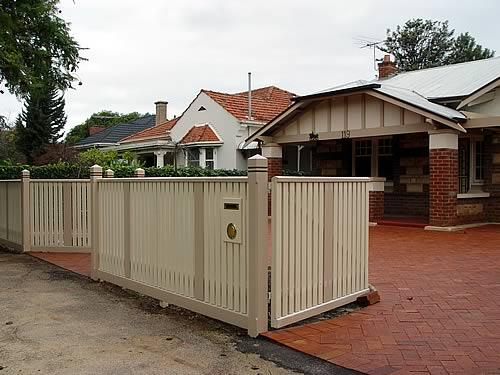Fences inspiration heritage fencing australia Tudor style fence