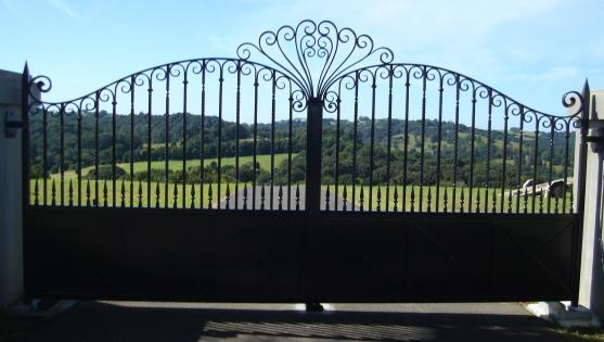 Entrance Designs by Zen Fine Ironwork