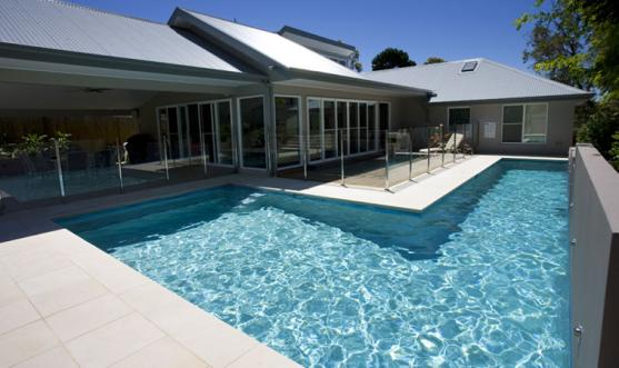 Attractive Lap Pool Designs By Crystal Pools