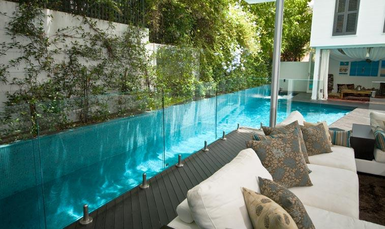 Lap pools inspiration crystal pools australia for Pool design ideas australia