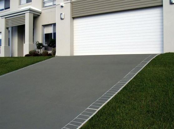 driveway designs by the concrete firm - Concrete Design Ideas