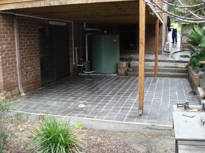 Galleries home concrete solutions for Patio cleaning solution