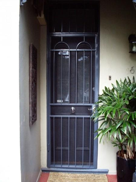 E m home security security doors window grills the for Home security doors