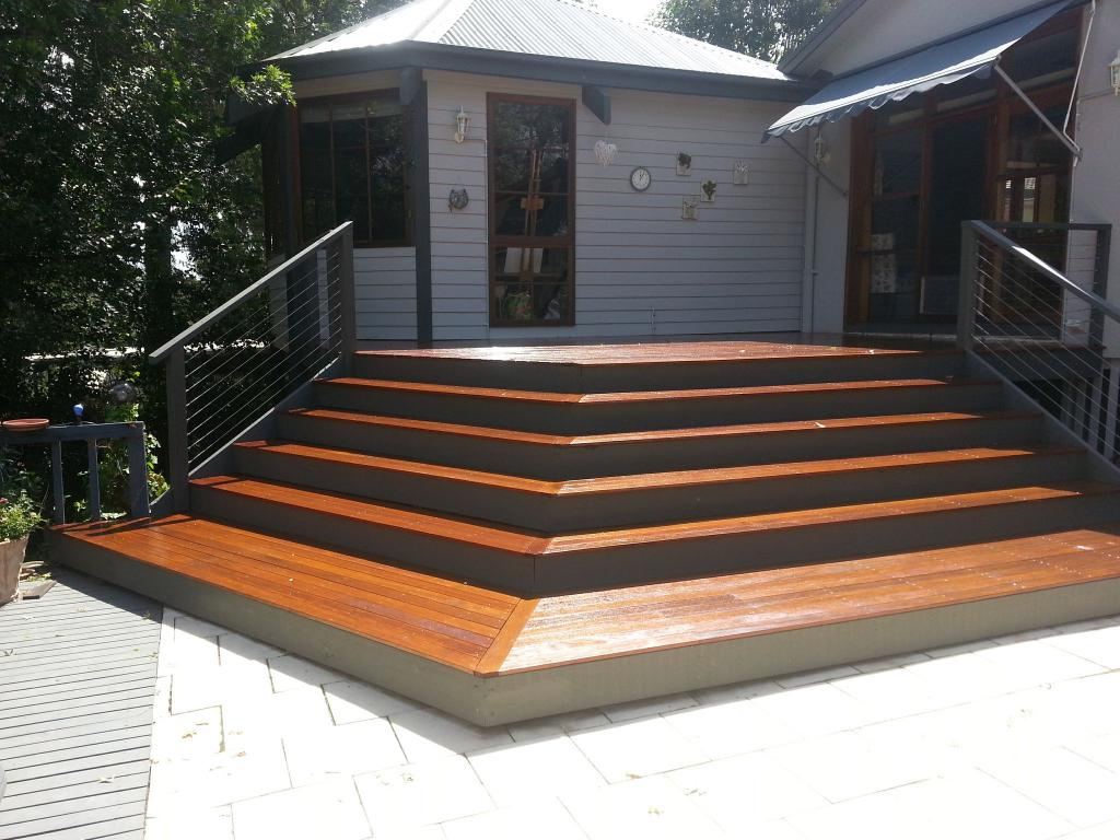Elevated Decking Ideas by Upright Building Services