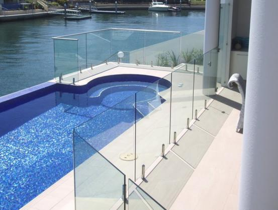 Pool Fencing Ideas by Pool/Glass/Fencing