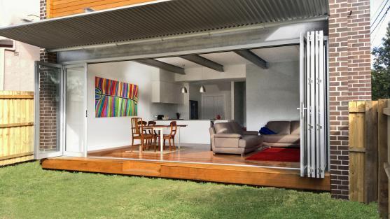 Bifold Door Designs by Pedersen Architecture