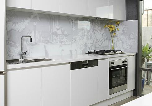 glass tiled splashbacks for kitchens kitchen splashback design ideas get inspired by photos 6861