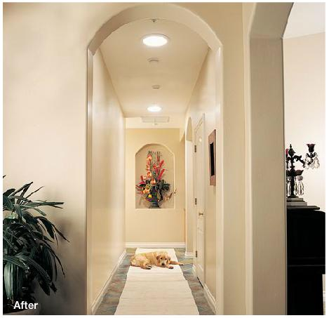 Before & After - Hallway