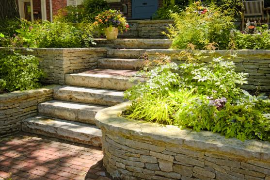 retaining wall design ideas by turf it artificial lawns landscaping - Retaining Wall Design Ideas