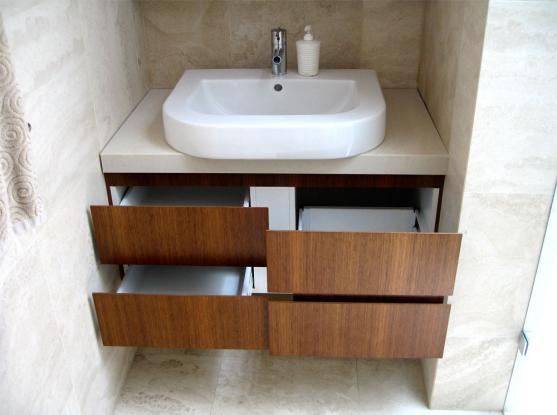Bathroom Storage Ideas by One8th Joinery