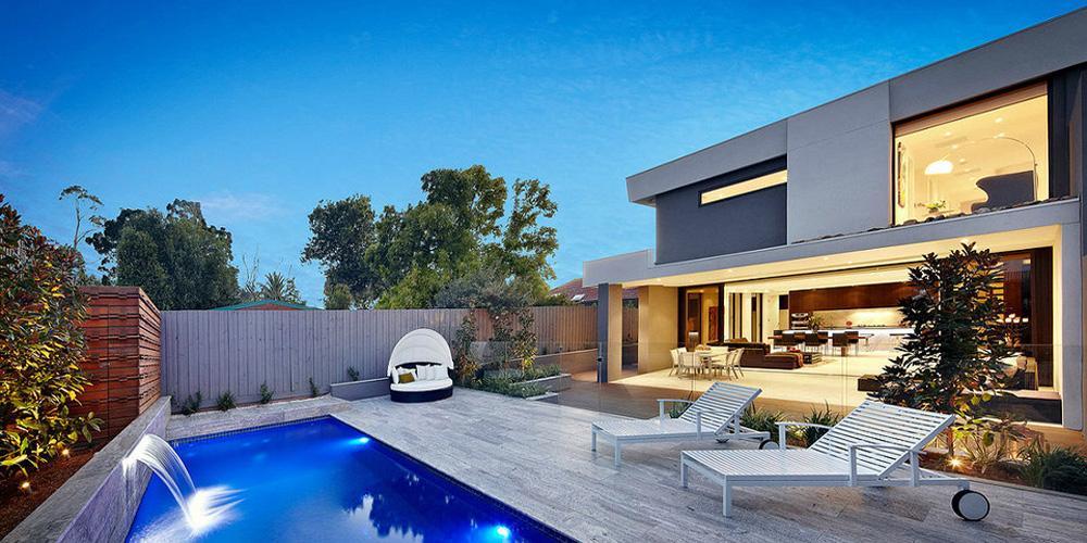 Pools Inspiration Light Green Architecture Australia