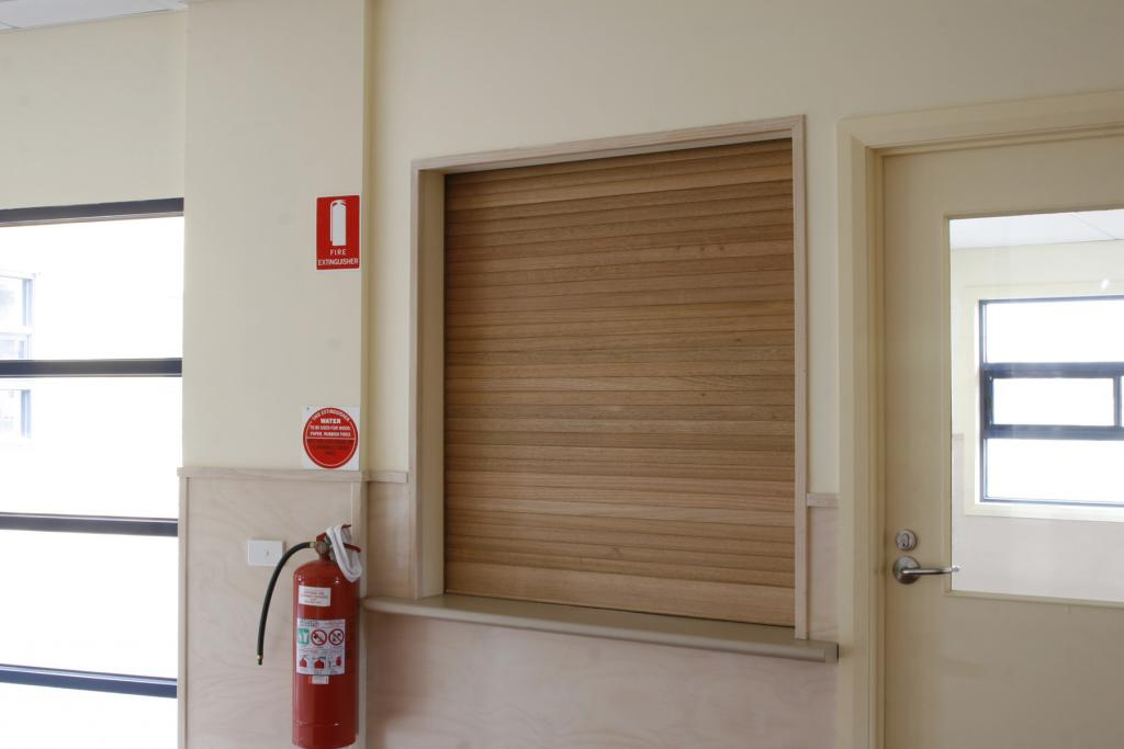 Timber Roller Shutters Galleries Airport Doors