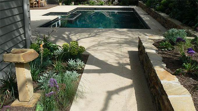 John french landscape design eltham reviews hipages for Pool design eltham
