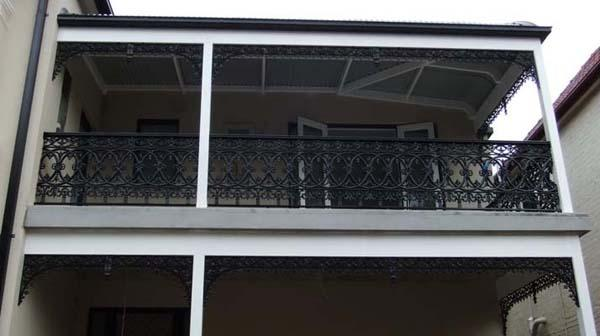 Balustrade, Balusters and Frieze
