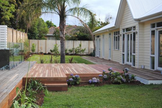 Elevated Decking Ideas by Gavin Simpson Constructions