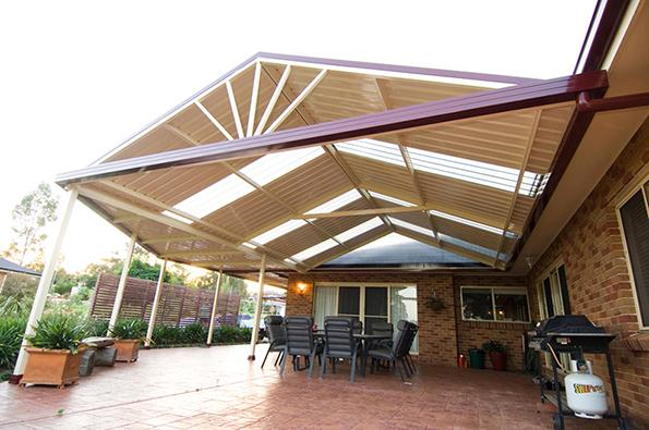 Free Standing Pergola With Roof