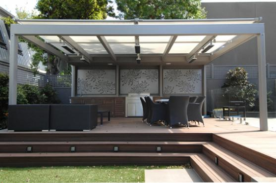 Outdoor Living Ideas by Modify the Manor