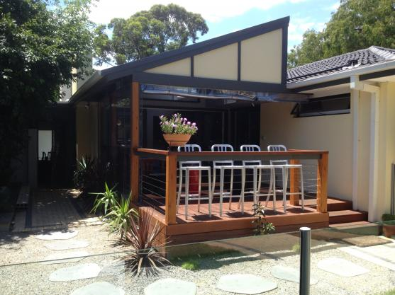 Elevated Decking Ideas by Finewood Constructions