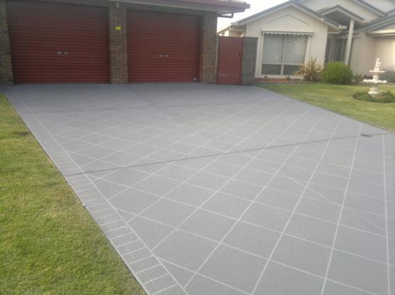 Paving Ideas by Spray Pave Australia