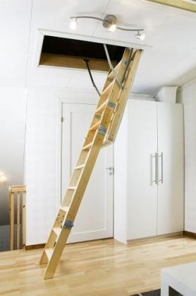 Attic Ladder Ideas by Hiding Stairways